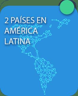 Países américa latina New