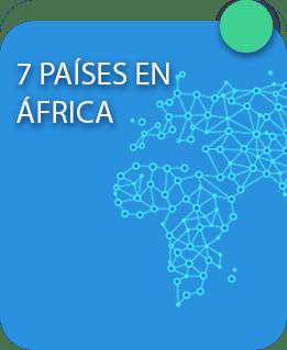 7 países en áfrica New